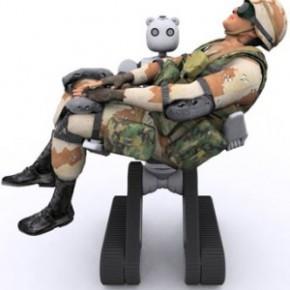 More Robot chas